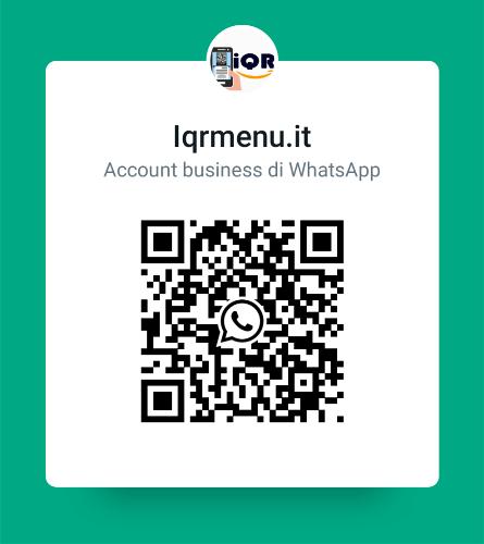 Contatta iQRMenu.it
